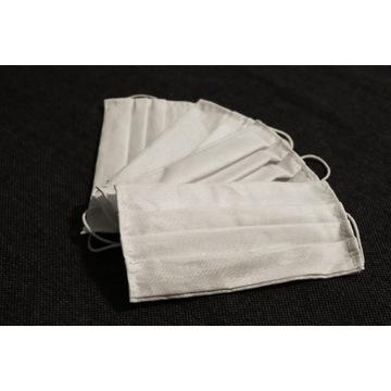 Maseczki wielokrotnego użytku Bawełna miękka gumka