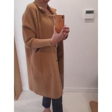 Kurtka, płaszcz z alpaki rozmiar M