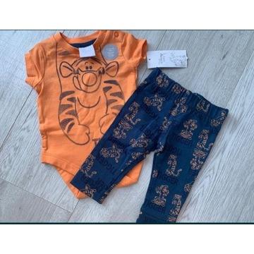 Komplet body + spodnie Disney Tygrysek 62 cm NOWE