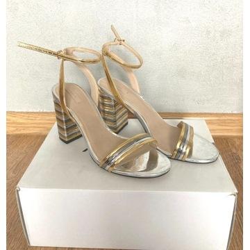 Buty ALDO roz. 38 sandały na obcasie kupione w USA