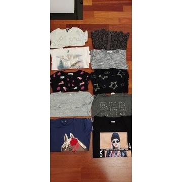 Bluza, sweter, benetton, h&m, reserved 128/140cm
