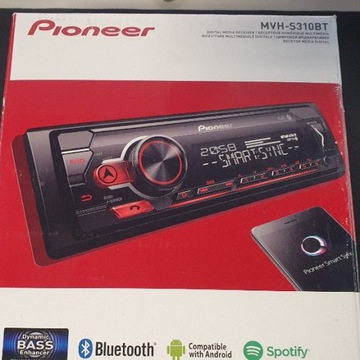 RADIO SAMOCHODOWE PIONEER MVH-S310BT BLUETOOTH