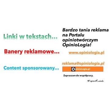 Bardzo tania reklama na Portalu opiniotwórczym!