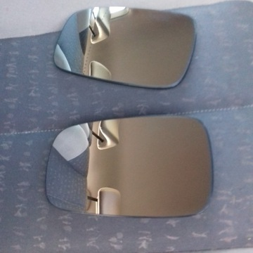 2 x wkłady lusterko podgrzewane do scenic II