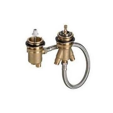 Hansgrohe - 2-otworowy termostat na brzeg wanny (n