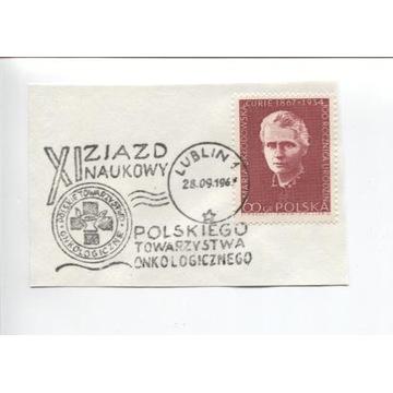 XI ZJAZD NAUKOWY POL. TOW. ONKOLOG. 1967-WYCINEK