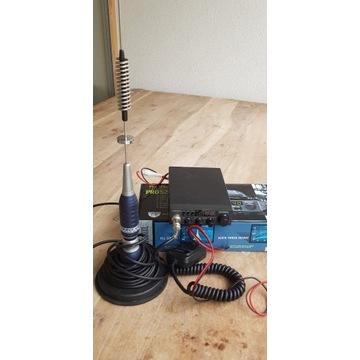 Uniden PRO 520 XL + antena