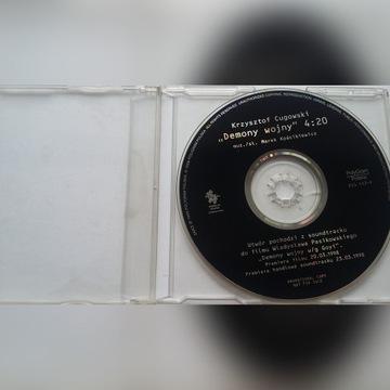 """K. Cugowski """"Demony wojny"""" cd singiel do filmu"""