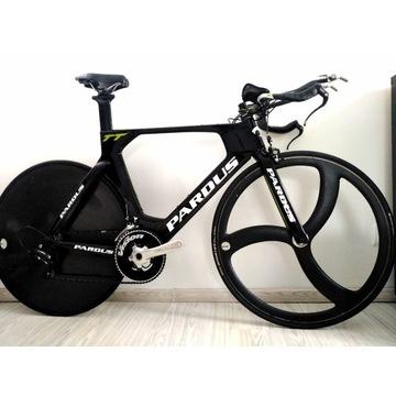 Rower Czasowy TT, Triathlon Pardus, Karbon, Carbon