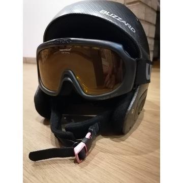 Kask narciarski męski