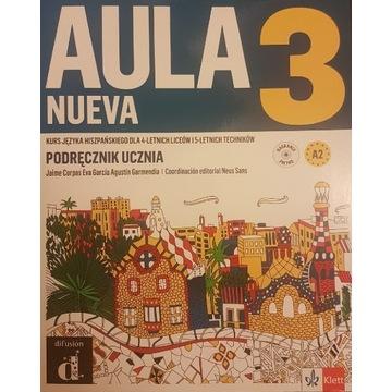 Aula Nueva 3 - Podręcznik i Zeszyt Ćwiczeń NOWE