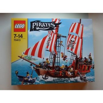 LEGO 70413 Statek Piracki - Zaginiony Skarb NOWY