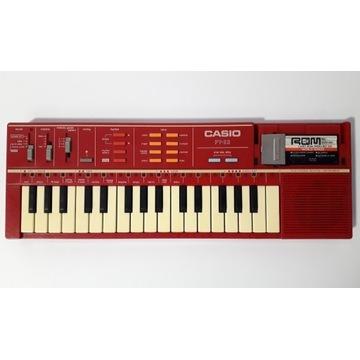 Keybord Casio PT-82 stary instrument zabawka