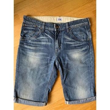 """denimowe spodnie do kolan LEE, rozm.28"""" (dam.38)"""
