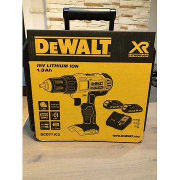 Wkrętarko wiertarka DeWALT DCD771C2