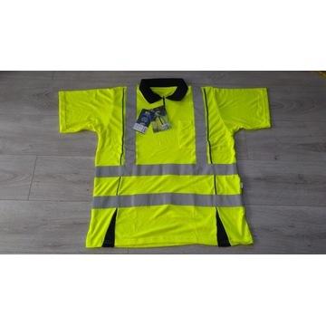 Koszulka shirt odblaskowa BHP FRISTADS L, XL