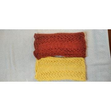 Sprzedam zestaw 2 szalików dla dzieci ręcznie robi