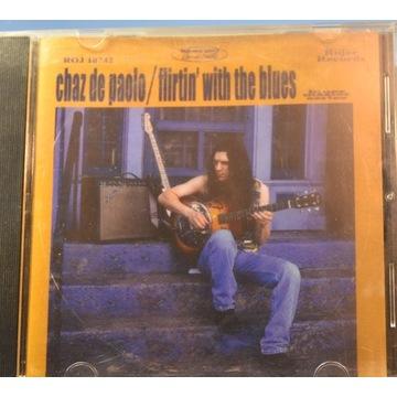 CD CHAZ DE PAOLO Flirtin' with the blues