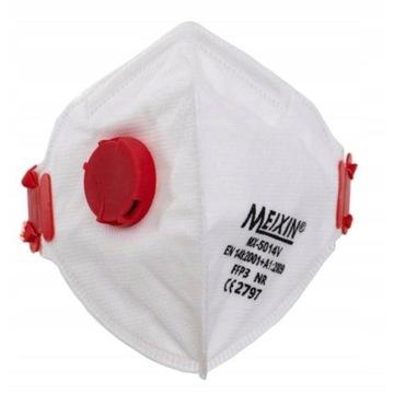 Maska maseczka FFP3 ochronna ZAWOREK certyfikat CE