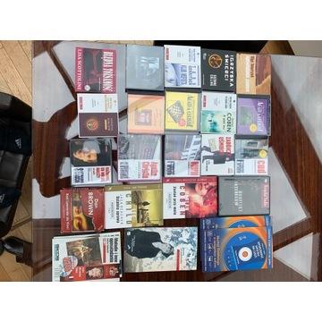zestaw 22 audiobooków