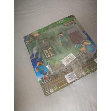 Klocki figurki Minecraft seria2 zestaw 9szt.