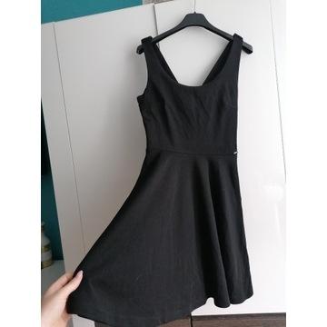 Sukienka czarna XS cropp