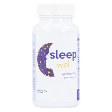 SLEEP WELL NA BEZSENNOŚĆ PROBLEMY ZE SNEM 30 KAP