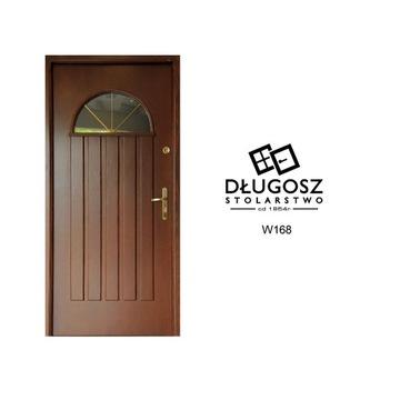 Drzwi Zewnętrzne Drewniane Wejściowe WYPRZEDAŻ