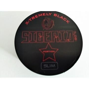 Snus tabaka Siberia Black slim 20g