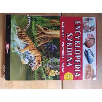 Encyklopedia szkolna człowiek przyroda świat