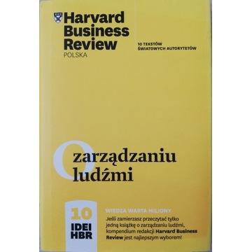O zarządzaniu ludźmi . 10 idei HBR.