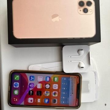iPhone 11 PRO MAX 64Gb Złoty Gwarancja jak Nówka