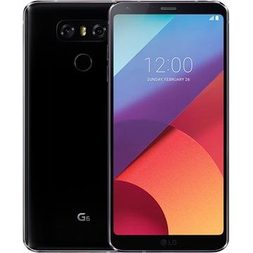 Oryginalny czarny LG G6