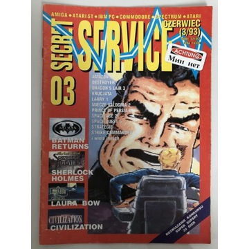 Secret Service numer 03 czerwiec (3/93)