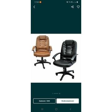 Fotel biurowy obrotowy funkcja bujania TILT- Eko