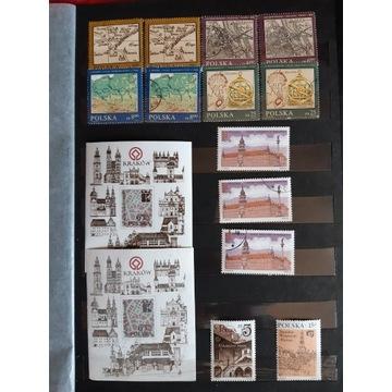 """Kolekcja znaczków """"miejsca i ludzie"""""""