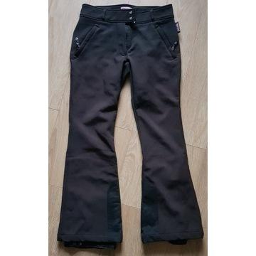 Spodnie narciarskie softshel rozm. 36 system RECCO