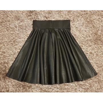 Spódnica skórzana czarna Orsay 36