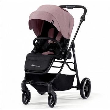 Wózek spacerowy, VESTO kinderkraft różowy