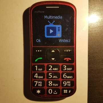 MYPHONE - TELEFON DLA SENIORA RADIO SOS