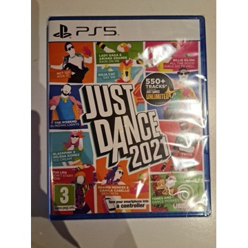 JUST DANCE 2021 PS5 NOWY