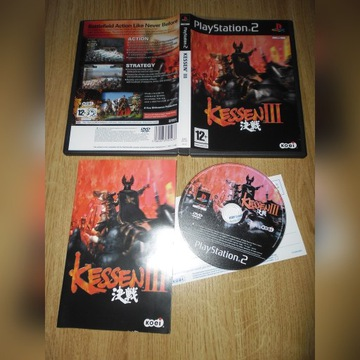 Kessen III / 3 / PS2 / Playstation
