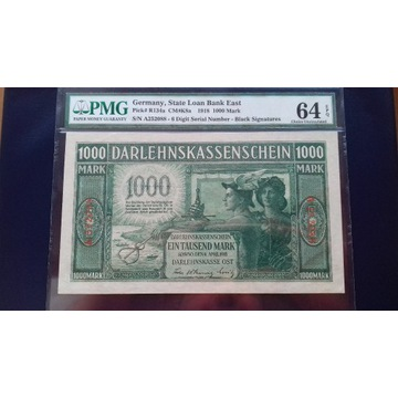 1000 MAREK 1918 KOWNO PMG 64 EPQ