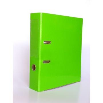 Segregator A4 z dźwignią okuciami solidny zielony