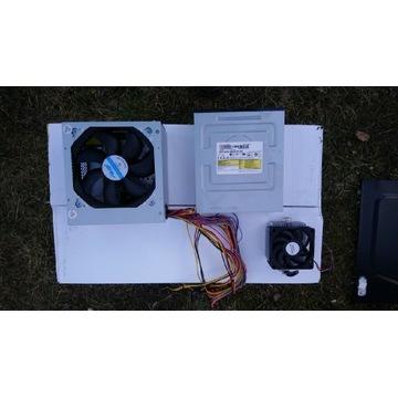 Zasilacz, chłodzenie procesora i odtwarzacz dvd