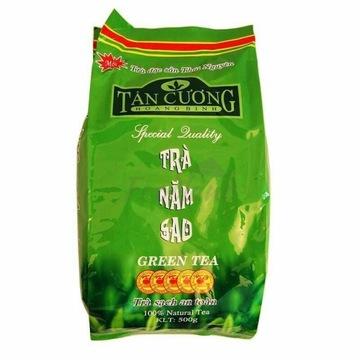 Zielona herbata liście 500g. Tan Cuong Tra Nam Sao