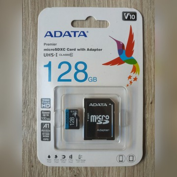 ADATA CARD Premier microSDXC 128GB Class 10 UHS-I