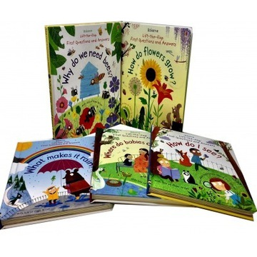 Nowy zestaw 5 książek First Questions and Answers