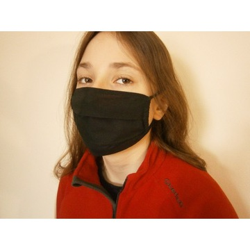 Maska maseczka bawełna jednowarstwowa ultralekka M