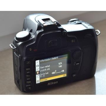 Nikon D80 przebieg 9965 + Tamron 28-200 + NikonF60